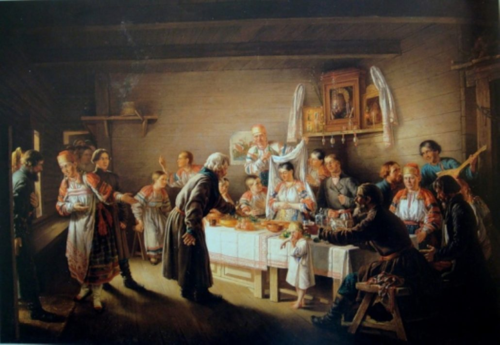 Колорит свадебного сватовства - Статья Антона Белого