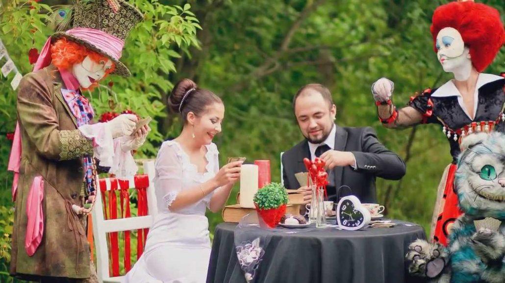 Оригинальная свадьба по мотивам фильма...