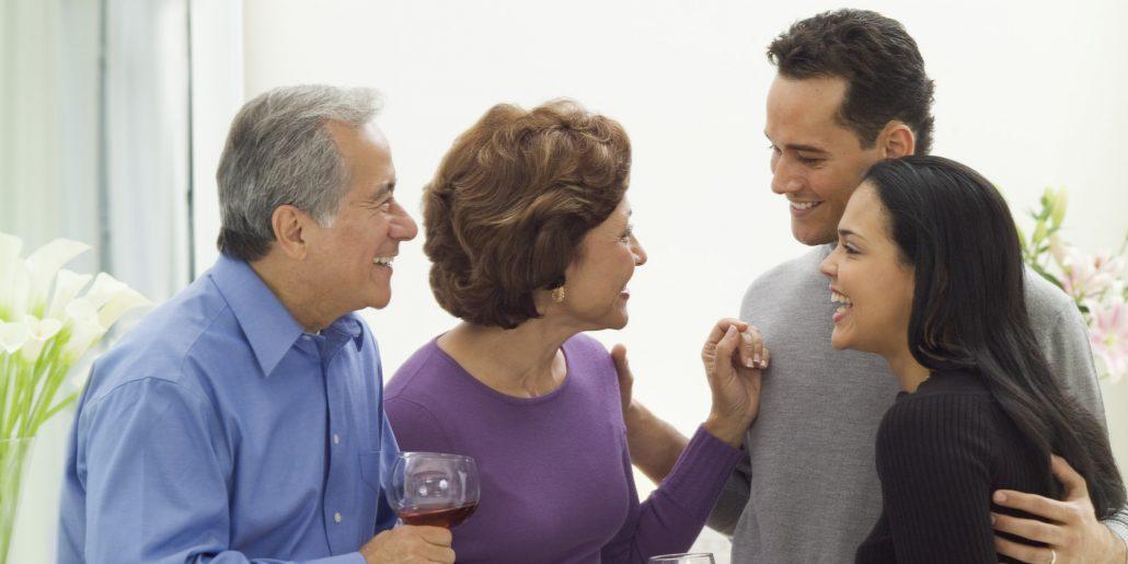 Знакомство с родителей молодожёнов - Статья Антона Белого